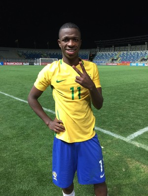 Vinicius Júnior - seleção sub 17
