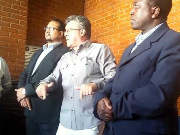 Vídeo mostra suposta ameaça de secretário de Pouso Alegre a guardas municipais (Foto: Reprodução EPTV)