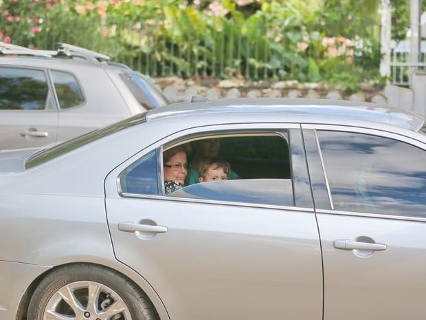 Dilma está em Porto Alegre depois de inaugurar a Rodovia do Parque (Foto: Ricardo Duarte/Agência RBS)
