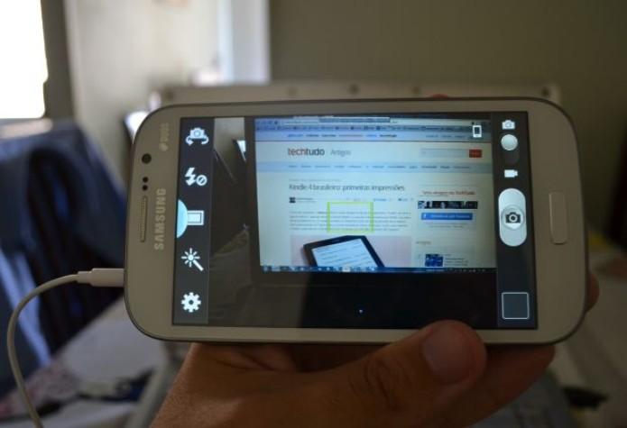 Câmera traseira do Galaxy Gran Duos (TechTudo|Pedro Zambarda)