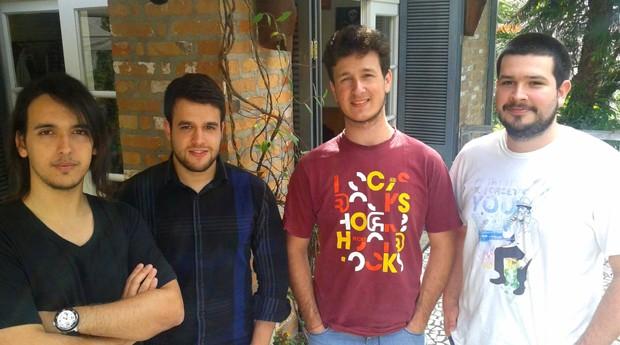 Acima, os fundadores da Listabeta (Foto: Divulgação)