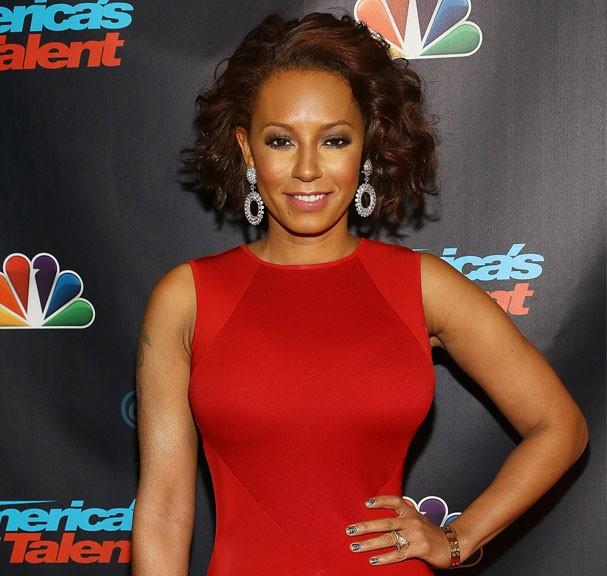 Mel B em evento recente do America's Got Talent (Foto: Getty Images)