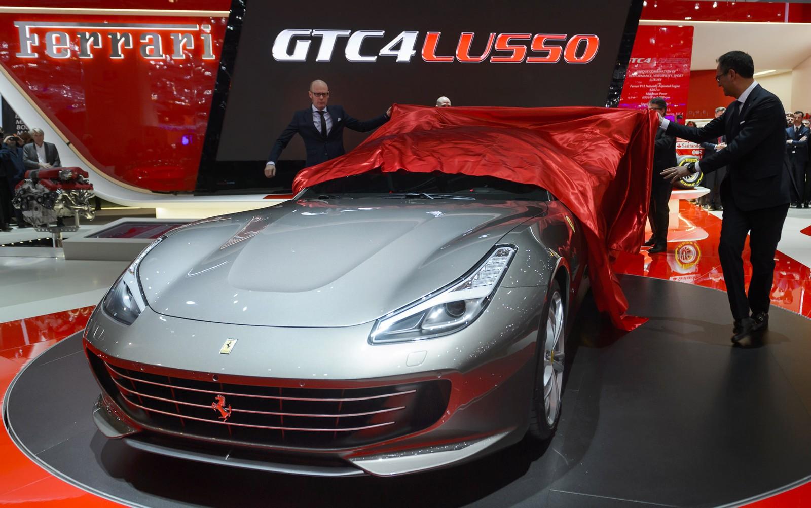 Ferrari apresenta a GTC4 Lusso, sucessora da FF