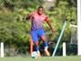 """Como titular, Mamute exalta chance no Náutico: """"Chegou meu momento"""""""