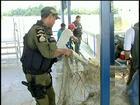 Ação de combate à pesca predatória apreende redes e peixes em Alenquer