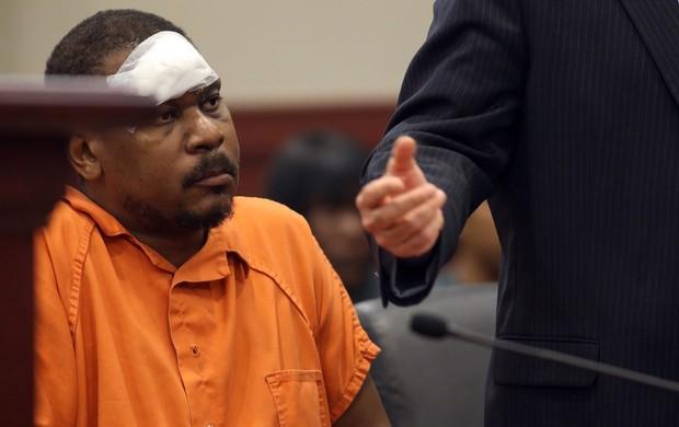 Mookie Blaylock preso ex-jogador da NBA (Foto: AP)