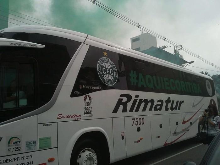 Blog Torcida Coritiba - marketing no ônibus