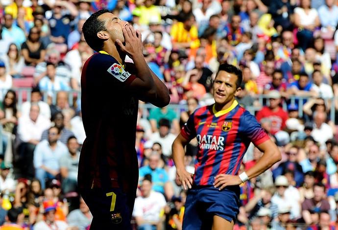 Pedro Rodriguez barcelona e Getafe (Foto: Agência Getty Images)