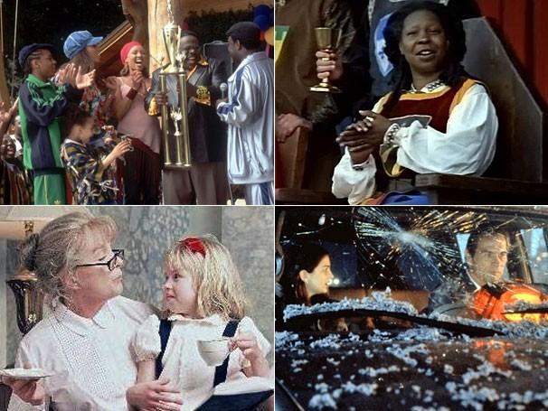 'Férias da Família Johnson', 'Uma Cavaleira em Camelot', 'Eloise no Plaza' e 'Volcano - A Fúria' estão entre as atrações (Foto: Divulgação / Reprodução)