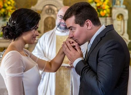 Último capítulo 'Pega Pega': Antônia e Júlio se casam