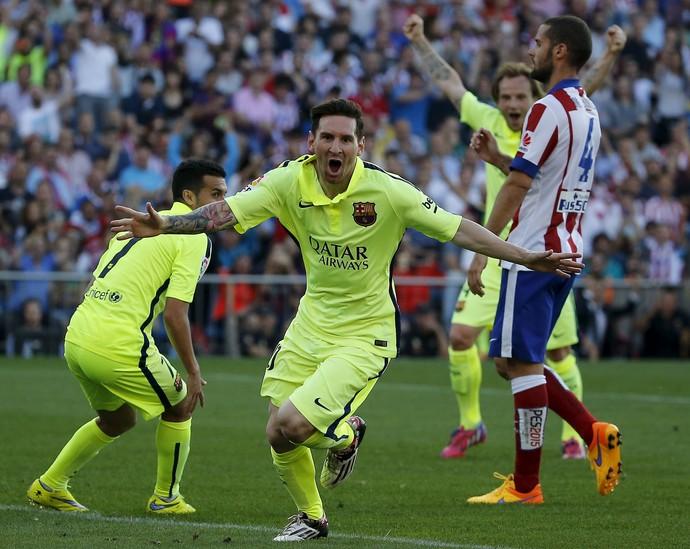 Messi Barcelona Atlético de Madrid (Foto: Andrea Comas / Reuters)