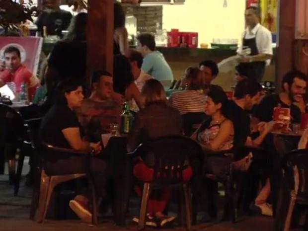 Medida que limita horário de funcionamento de bares é arquivada Goiânia Goiás (Foto: Reprodução/ TV Anhanguera)