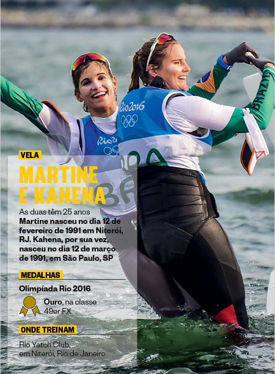 Vela - Martine Grael e Kahena Kunze (Foto: Ricardo Nogueira/ÉPOCA)