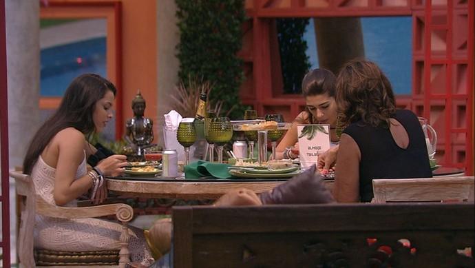 Emilly, Vivian e Ieda BBB17 (Foto: TV Globo)