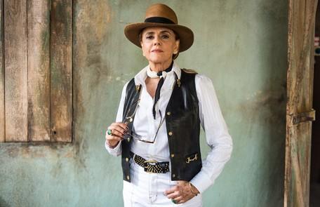 Clara denunciará as condições de trabalho do garimpo de Sophia (Marieta Severo) e a megera vai parar atrás das grades Globo/Marília Cabral