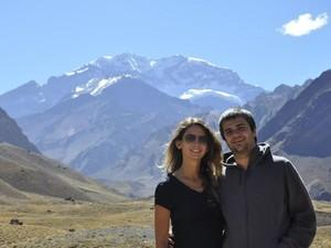 Camila Ribeiro mora com Gonzalo Saenz em Buenos Aires, na Argentina. (Foto: Camila Ribeiro/Arquivo Pessoal)