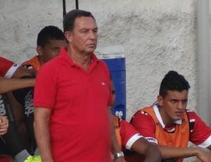 Eduardo Neto, técnico do Santa Rita-AL (Foto: Leonardo Freire/GloboEsporte.com)