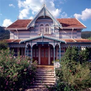Primeira sede do IMS, em Minas Gerais (Foto: Divulgação)