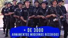 Governo entrega armas e veículos novos à Segurança Pública (Especial Publicitário)
