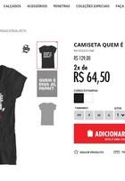 Frase de Ivete Sangalo para marido vira estampa de camiseta de grife