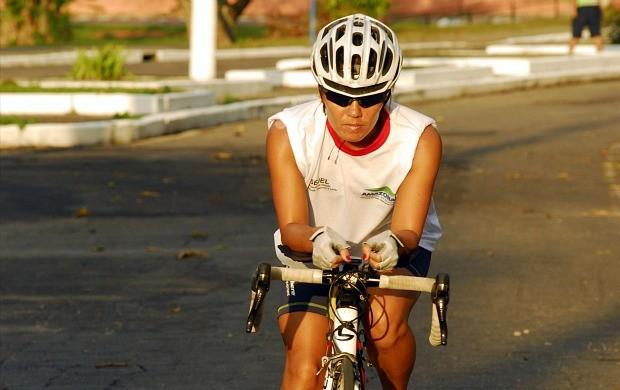 Yuri Sasai, atleta de triatlo (Foto: Mauro Neto/Sejel)