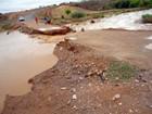 Após forte chuva, rodovia volta a romper e cidade fica isolada no Piauí