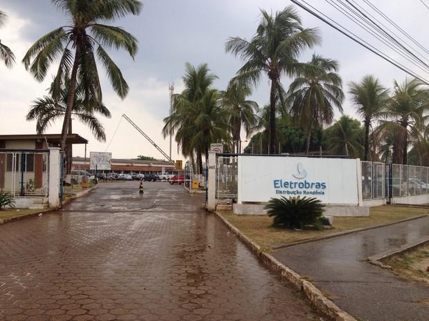 Sede da empresa Eletrobrás Distribuição Rondônia, em Porto Velho (Foto: Mary Porfiro/G1)