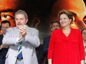 Lula e Dilma participam de festa do PT (Foto: Ricardo Stuckert/ Instituto Lula )
