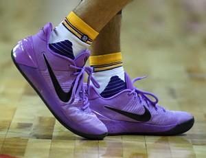 Tênis da Nike usado por Lonzo Ball (Foto: Getty Images)
