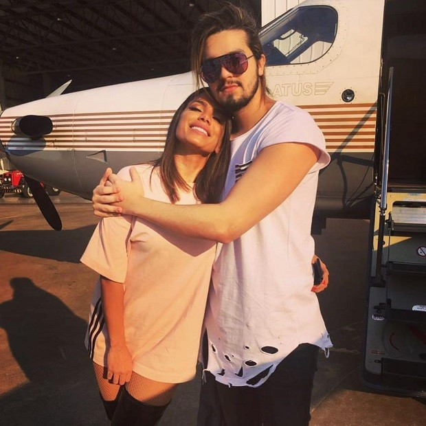 Anitta e Luan Santana (Foto: Reprodução/Instagram)