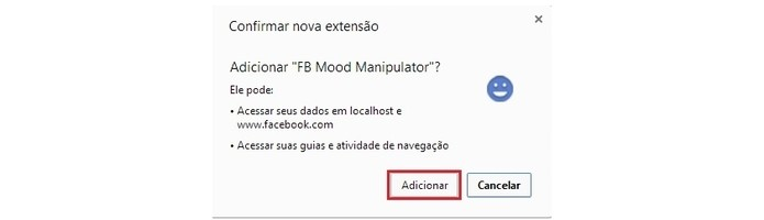 Adicione a extensão no seu Google Chrome para começar a manipular as emoções no seu feed (Foto: Reprodução/Paulo Finotti)