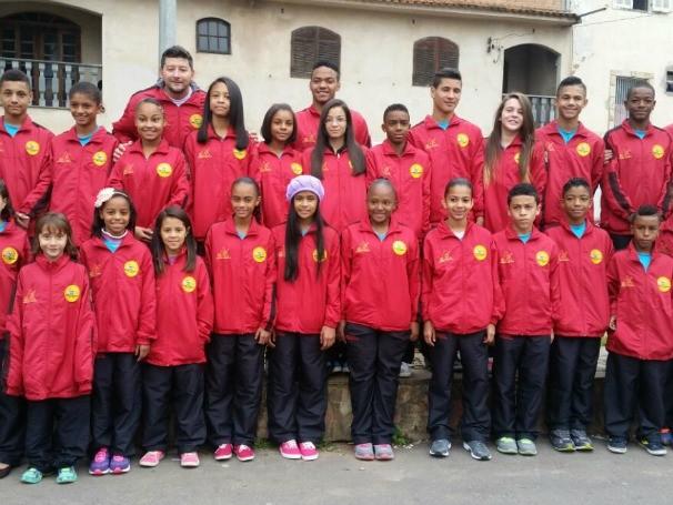Atletas de projeto apoiado pelo Criança Esperança ganham medalhas (Foto: Divulgação)