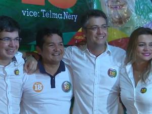 Clécio Luís, reeleição, entrevista, macapá, amapá (Foto: Reprodução Rede Amazônica no Amapá)