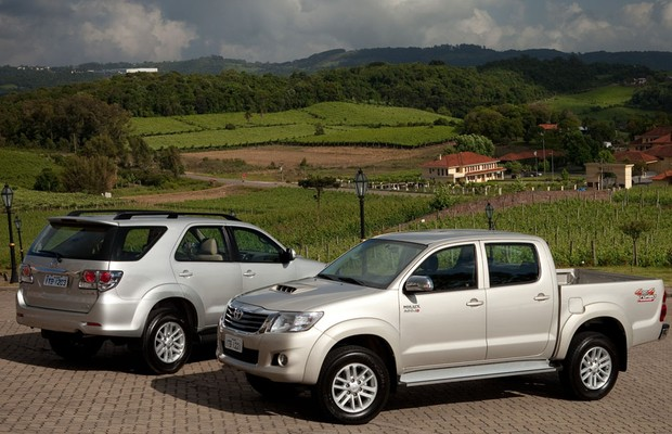 Toyota Hilux e SW4 2014 (Foto: Divulgação)