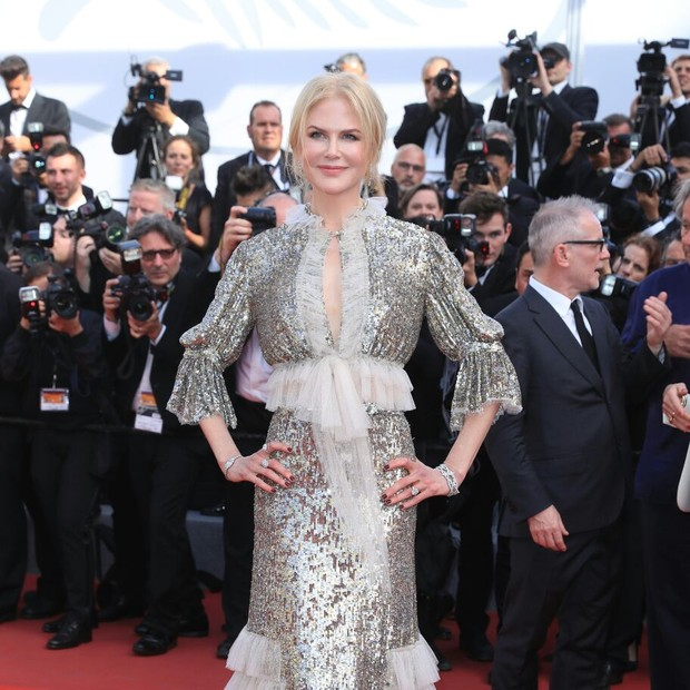 Nicole Kidman em Cannes 2017 (Foto: Getty Images)