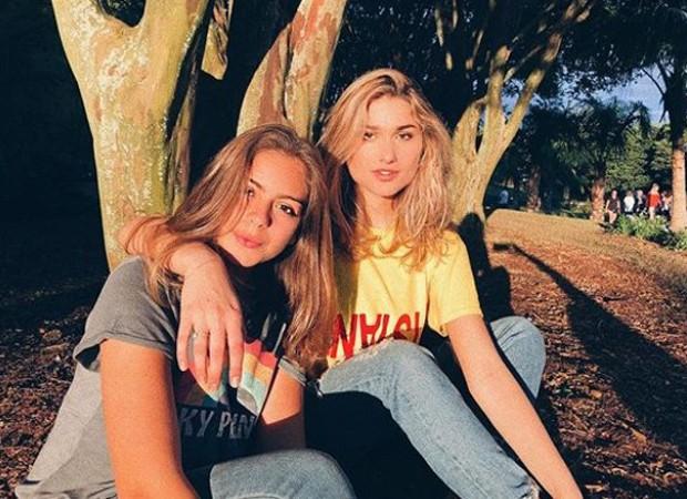 Luana Andrade, filha de Junno Andrade, e Sasha Meneghel (Foto: Reprodução/Instagram)