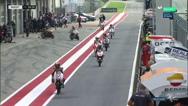 BLOG: GP da Áustria de Motovelocidade - Hector Barberá (Ducati - MotoGP), Miguel Oliveira (KTM - Moto2) e  Joan Mir (Honda - Moto3) e dominam o TL1 em Spielberg...