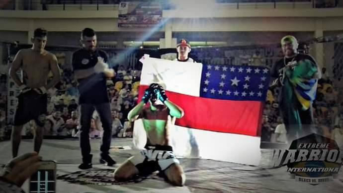 Amazonense venceu evento de MMA no méxico (Foto: Divulgação)