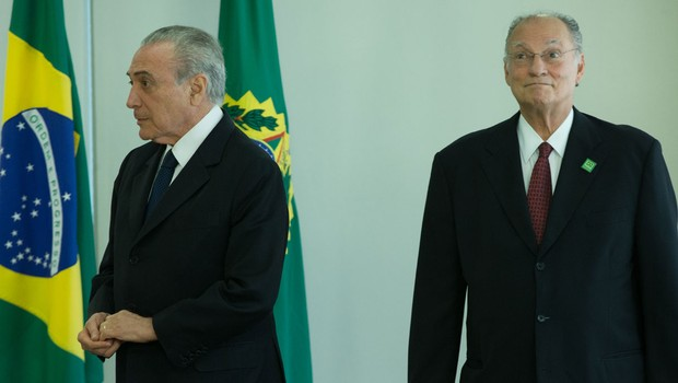 Roberto Freire (PPS) toma posse como ministro da Cultura com presença de Michel Temer (Foto: Lula Marques/Agência PT)
