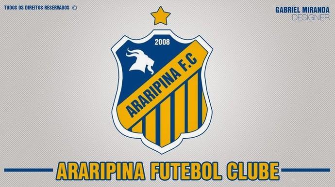 Esse será o novo escudo do Araripina  (Foto: Reprodução/Facebook)