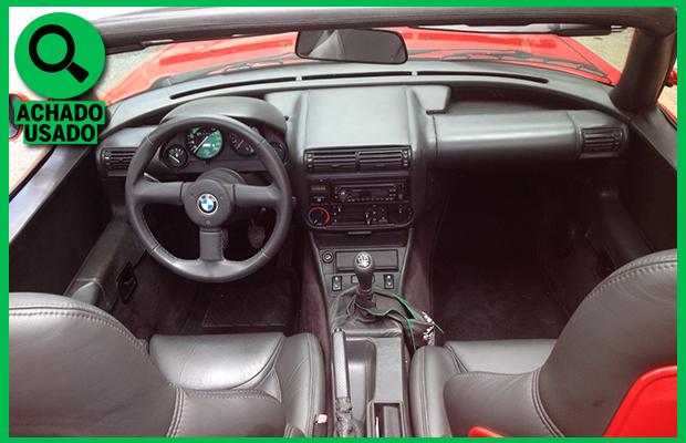 Painel do BMW Z1 1992 (Foto: Reprodução)