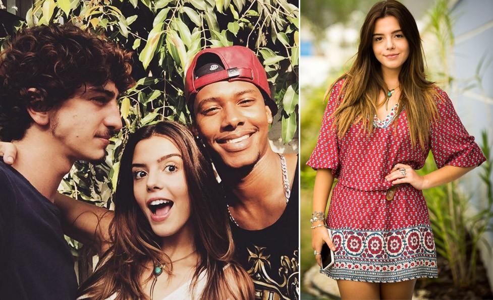 Giovanna Lancellotti d dicas de beleza e boa forma  (Foto: Reproduo Instagram e divulgao TV Globo)