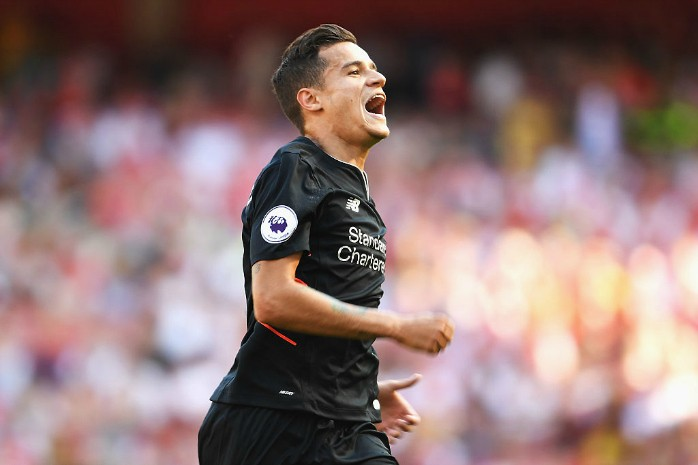 Philippe Coutinho Liverpool top-10