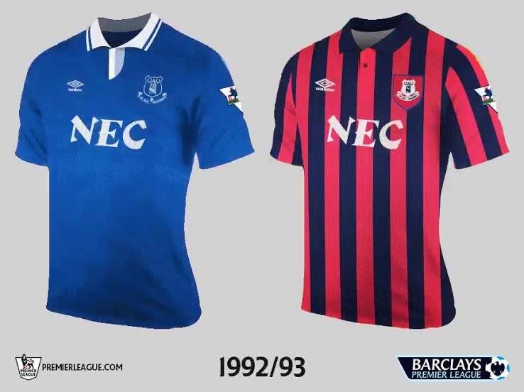 Everton Premier League Retrô