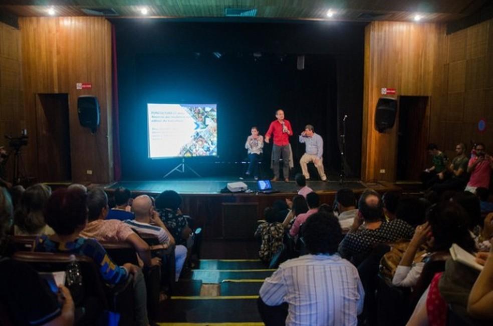 As mudanças foram anunciadas em reunião, na segunda-feira (12) (Foto: Divulgação/Secretaria de Cultura de Pernambuco)