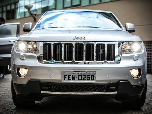 Jeep Grand Cherokee agora tem opção a diesel no Brasil (Foto: Raul Zito/G1)