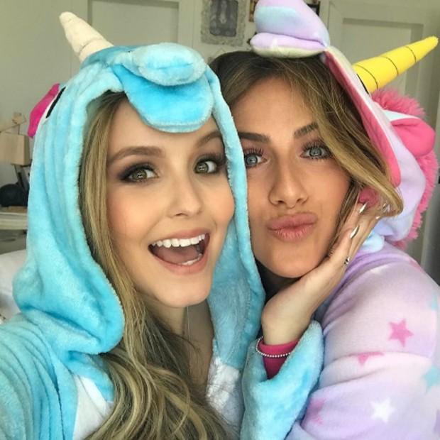 Larissa Manoela e Giovanna Ewbank (Foto: Reprodução/Instagram)