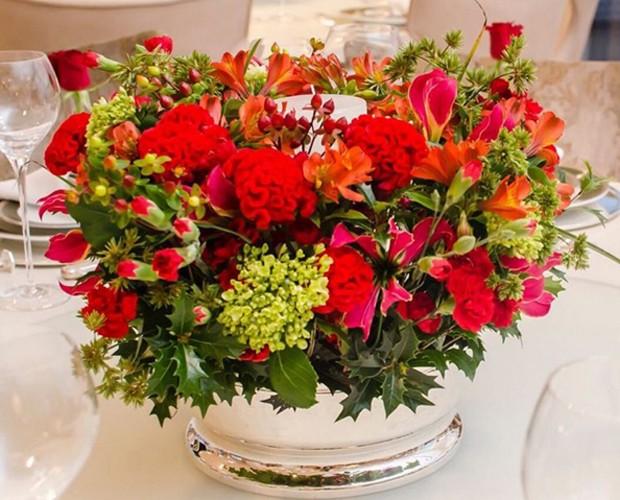 Arranjos florais assinados por Tetê Castanha (Foto: Instagram)