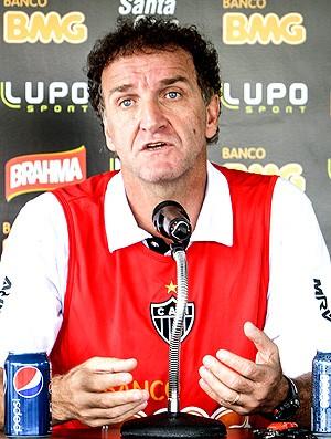 Cuca treino Atlético-MG (Foto: Bruno Cantini / Site Oficial do Atlético-MG)