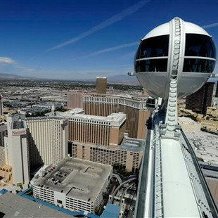 high roller roda-gigante las vegas (Foto: AP Photo/David Becker)
